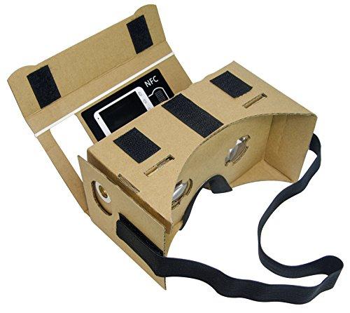 Google cardboard kit diy 3d glasses by minkanak virtual reality video