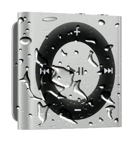 Waterproof Ipod Shuffle With Free Waterproof Headphones - Silver