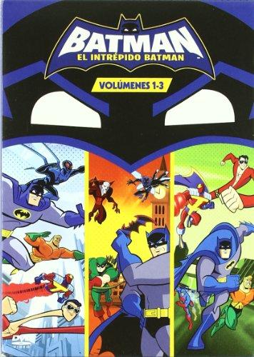 El Intrepido Batman Vol. 1-3 [DVD]