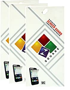Square Screen Protectors for Micromax Canvas Viva A72 Pack of 3