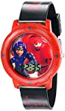 Disney Kids' BHS3380 Big Hero 6 Quartz Black Watch