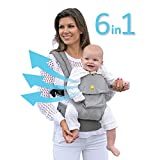 SIX-Position, 360° Ergonomic Baby & Child Carrier by LILLEbaby - The COMPLETE Airflow (Mist)