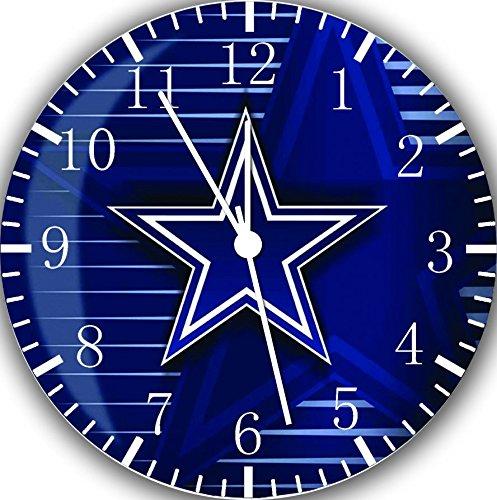 [해외]뉴 달라스 카우보이 벽 시계 (10)는 좋은 선물 및 룸 벽 장식 ...