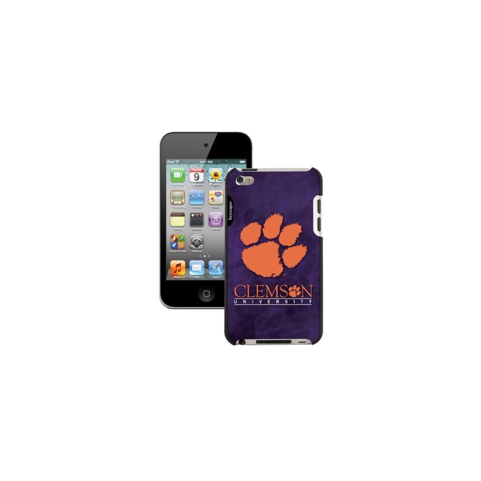 NCAA Clemson Tigers iPod Touch 4G Case  Sports Fan Electronics  Electronics