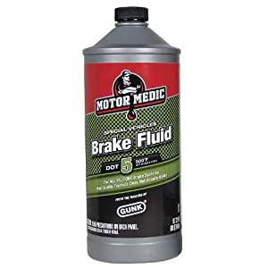 Motor Medic by Gunk M4032/6 DOT 5 Silicone Brake Fluid - 32 oz.