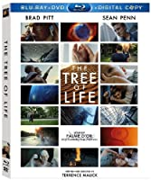 The Tree Of Life Three-disc Blu-raydvd Combo Digital Copy from 20th Century Fox