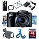 Canon PowerShot SX-510 SX510 SX 510 HS Digital Camera w/ Deluxe Accesory Kit