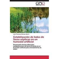 Estabilización de lodos de fosas sépticas en un humedal artificial: Desempeño de dos diferentes composiciones...