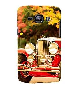 vintage automobile pic 3D Hard Polycarbonate Designer Back Case Cover for Samsung Galaxy J1 (2016)::Samsung Galaxy J120F::Samsung Galaxy J1 (2016) Duos with dual-SIM card slots