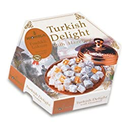 Turkish Delight with Hazelnut 250g 8.82 oz