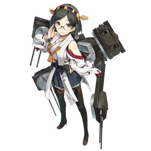 艦隊これくしょん 艦これ 卓上スタンドパネル 霧島 2種類セット