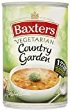 Baxters Vegetarian Country Garden Soup 400 g (Pack of 12)