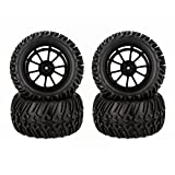GoolRC 4Pcs High Performance 1/10 Monster Truck Wheel Rim And Tire 8010 For Traxxas HSP Tamiya HPI K