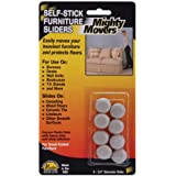 "Wmu Mighty Movers Self-Stick Furniture Sliders-.75"" Ro at Sears.com"