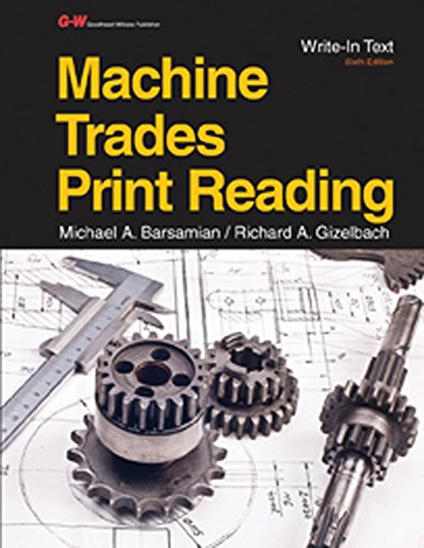 Machine Trades Print Reading (Reading Mechanical Drawings compare prices)