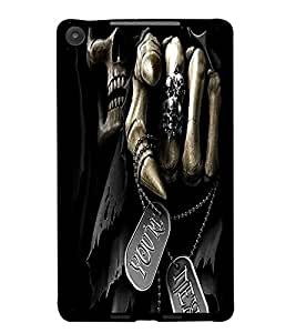PrintDhaba You Are Next D-1466 Back Case Cover for ASUS GOOGLE NEXUS 7 2013 (Multi-Coloured)