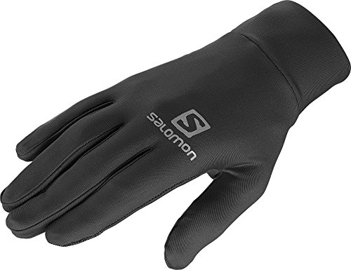 Salomon, Guanti Active Unisex, Nero (Black), S