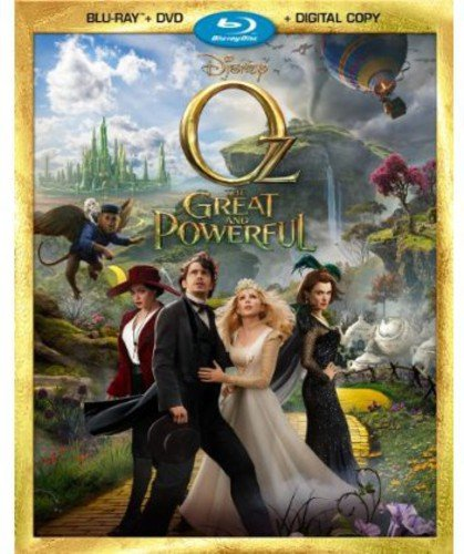 Blu-ray : Oz the Great and Powerful (With DVD, 2 Pack, Digital Copy, Widescreen, 2 Disc)