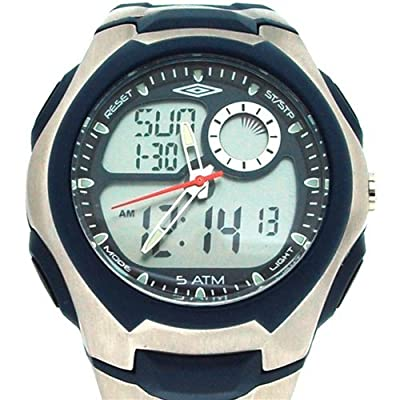 Umbro Gents/Boys Digital Multi Functional Rubber Blue Strap Sport Watch U887B