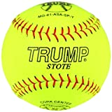 Trump® MG-61-ASA-SP-Y MP Series 12 Inch 44/375 ASA Premium Grade Leather Softball (Sold by the DZ.)