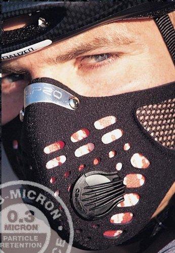 レスプロ RESPRO スポーツタマスク 大きいパワバルブ装備 メッシュ仕様 ブラック M 【並行輸入品】