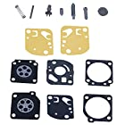 HIPA Carburetor Rebuild Kit RB-29 Gasket Diaphragm for ZAMA Ryobi Homelite String Trimmer / Blower A03979