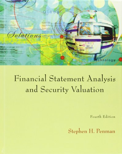 Financial Statement Analysis and Security Valuation 4ed