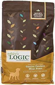 Nature's Logic Chicken Dry Dog Food, 4.4-Pound Bag