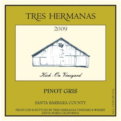 2009 Tres Hermanas Winery Pinot Gris 750 Ml