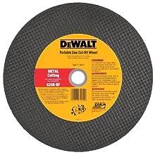 DEWALT DW8022 12-Inch x 1/8-Inch x 1-Inch A24N Abrasive Metal Cutting Wheel