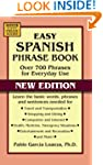 Easy Spanish Phrase Book NEW EDITION...
