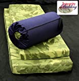 "Extra Large 4"" Thick Orthopedic Memory Foam Camping Pad - 4MFOCMP Roll-n-Go 26""x78"""