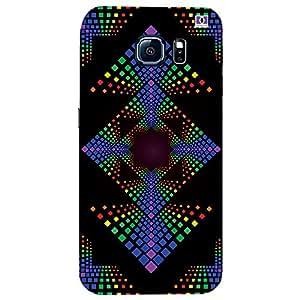 Multicolor Box Design - Mobile Back Case Cover For Samsung Galaxy S7 Edge