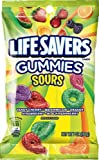 LifeSavers Gummies, Sours, 7-Ounce Bags (Pack of 12)