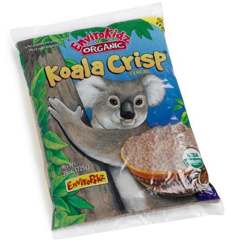 Envirokidz Organic Koala Crisp Chocolate Cereal Enviropakz, 26-Ounce Bags (Pack of 3)