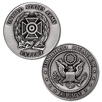 Northwest Territorial Mint U.S. Army Expert Badge Challenge Coin