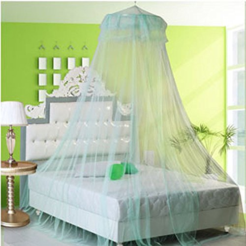 high-density-round-lace-curtain-dome-bed-canopy-netting-princess-mosquito-net-with-sticky-hook-aqua-