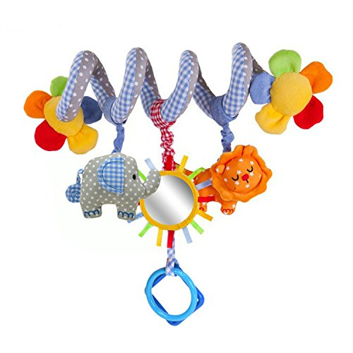 buy GYBER TM Multifunctional Car bed Hanging bed Bell Baby toys Educational Toys Rattles (Blue Elephant) for sale