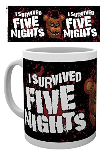 Five Nights at Freddy's - I Survived Tazza Da Caffè Mug (9 x 8cm)