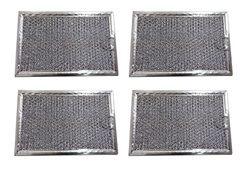 Grease Filter for Samsung Microwave 5 x 7 5/8 (4 pack) - NEW (Microwave Grease Filter Samsung compare prices)