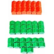 Replacement Monopoly Houses And Hotel Set Of 32 Houses 12 Hotels