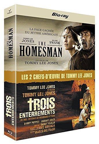 The Homesman + Trois enterrements [Blu-ray]