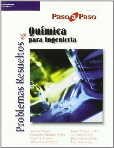 PROBLEMAS RESUELTOS DE QUIMICA PARA INGENIERIA