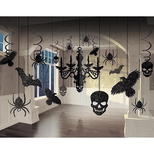 Halloween Glitter Chandelier Kit