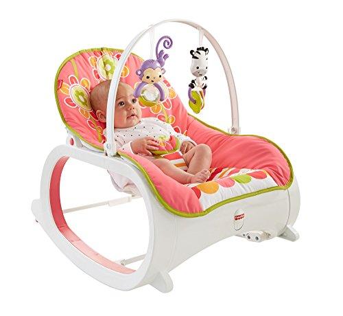 Fisher-Price Infant-to-Toddler Rocker, Floral Confetti (Fisher Price Swing Girl compare prices)