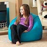 Sitz Sack Bazaar® Large Kinder Sitzsack AQUA - 100% Wasserabweisend