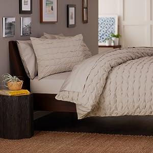 Superb Pinzon Percent Cotton Box Pleat Duvet Cover Set