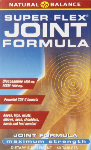 Natural Balance Super Flex Joint Formula, 60-Count