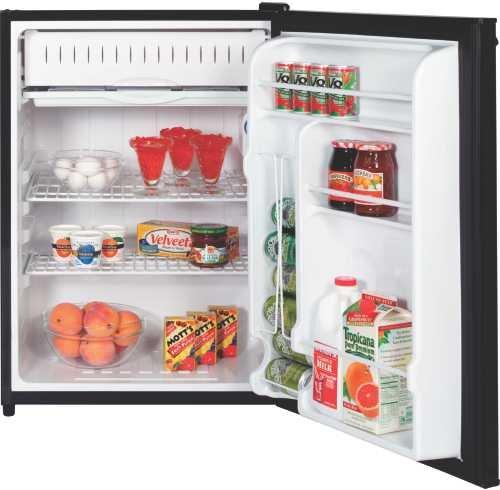Ge Gmr06Aazbb Spacemaker 5.7 Cu. Ft. Black Compact Refrigerator