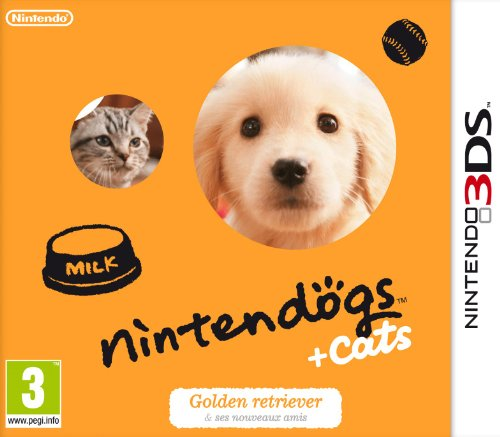 Nintendogs + cats : Golden retriever
